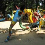 Crazy playground of Khmelnitsky city