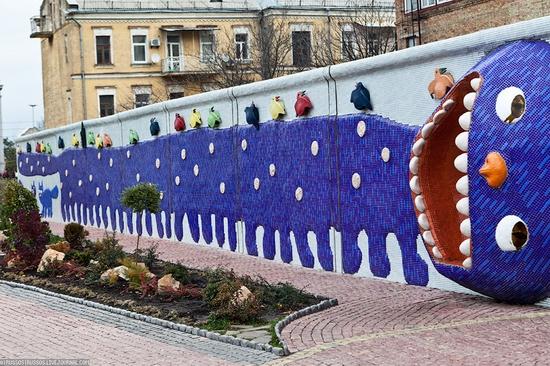 Bizarre children's landscape park, Kiev, Ukraine view 3