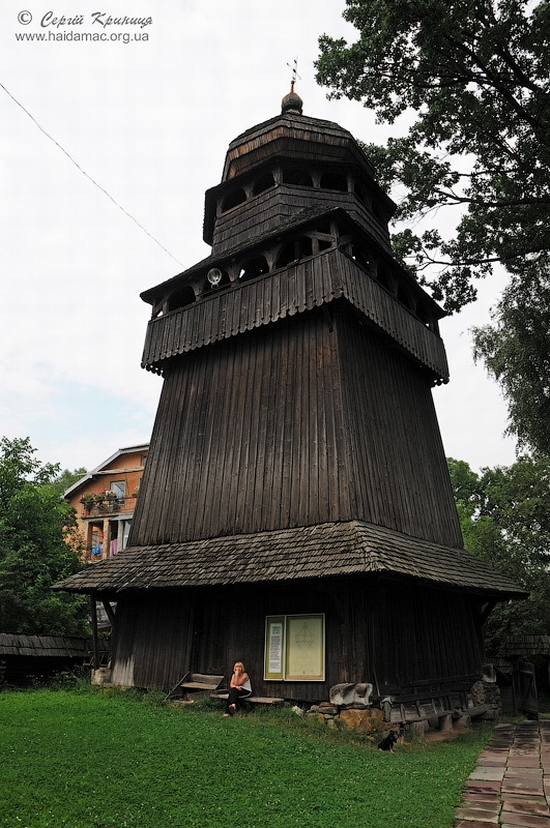 Wooden church of Drohobych, Ukraine view 3