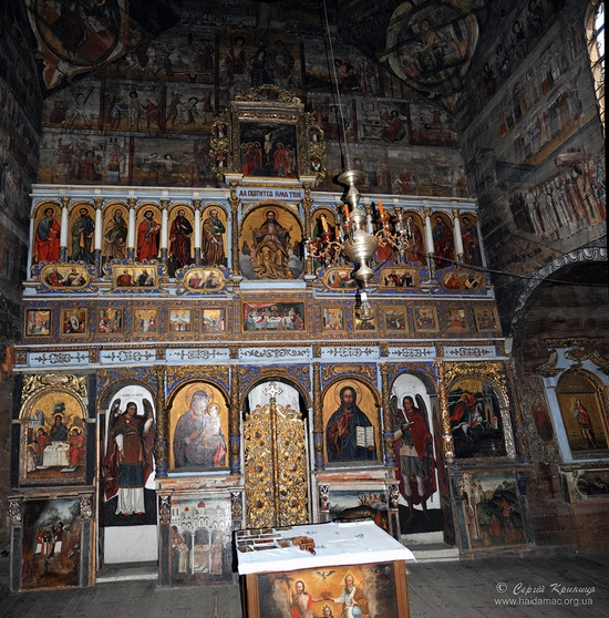 Wooden church of Drohobych, Ukraine view 7