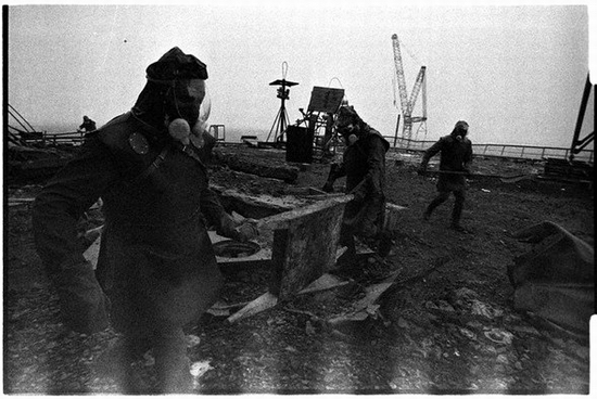 Fighting Chernobyl disaster