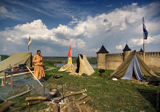 Battle of the Nations festival, Khotyn, Ukraine view 2