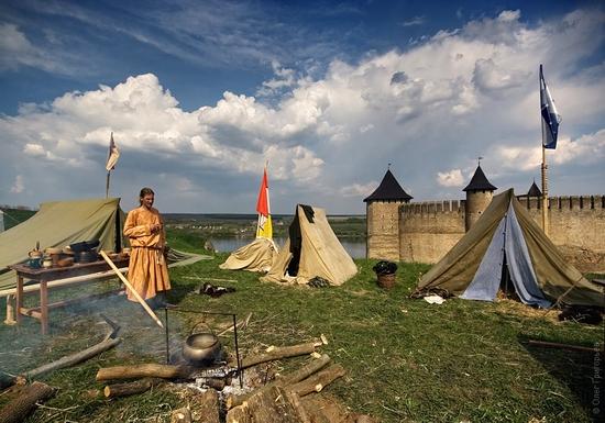 Battle of the Nations festival, Khotyn, Ukraine view 2