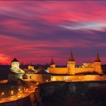Ancient fortress of Kamenets Podolskiy