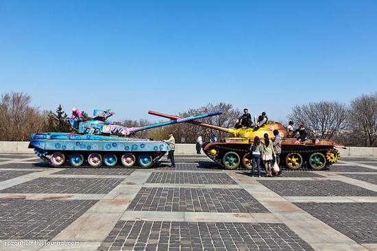 World War 2 museum, Kiev view 1