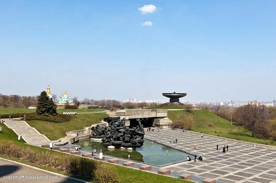 World War 2 museum, Kiev view 2