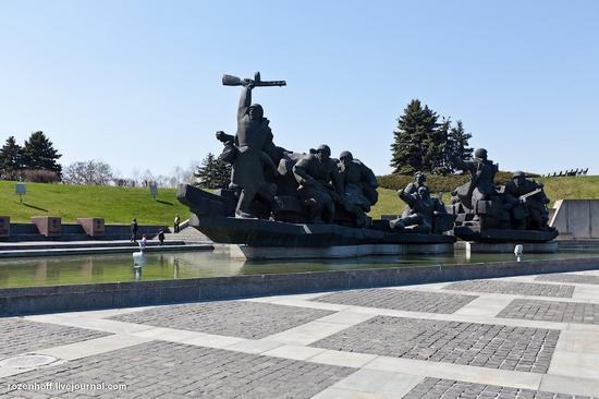 World War 2 museum, Kiev view 3