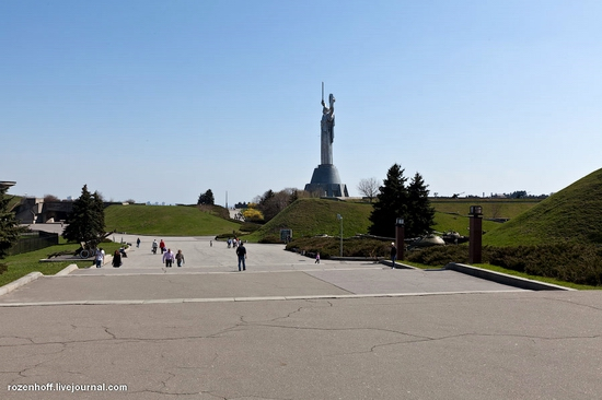 World War 2 museum, Kiev view 9