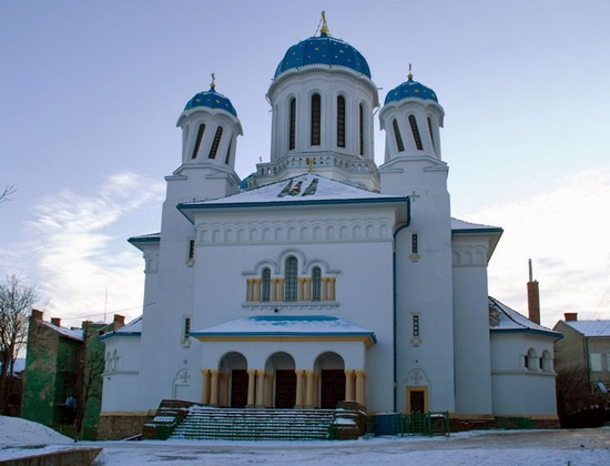 Nikolaevskaya church, Chernovtsy, Ukraine view 1