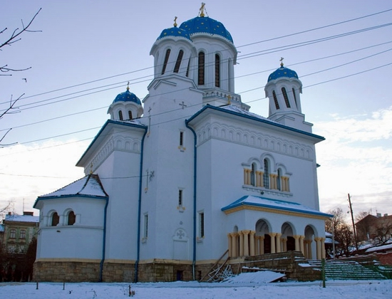 Nikolaevskaya church, Chernovtsy, Ukraine view 3