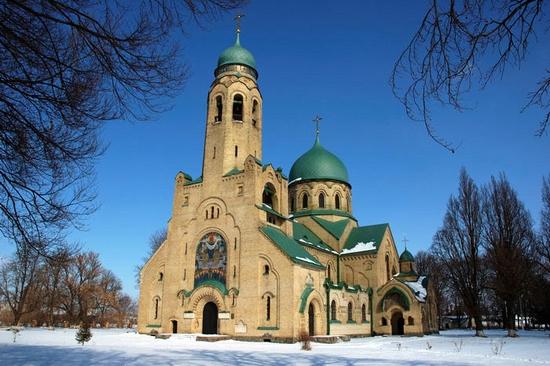 Parkhomovka church, Kiev oblast, Ukraine view 3
