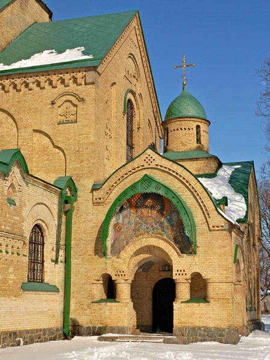Parkhomovka church, Kiev oblast, Ukraine view 4