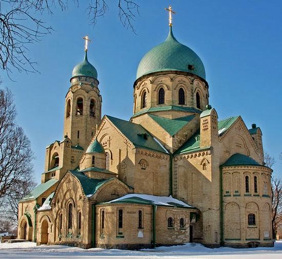 Parkhomovka church, Kiev oblast, Ukraine view 5
