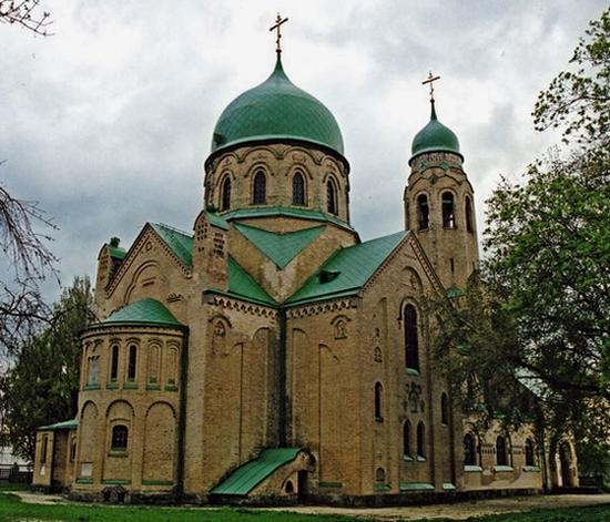 Parkhomovka church, Kiev oblast, Ukraine view 6
