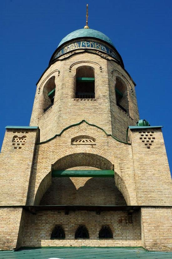 Parkhomovka church, Kiev oblast, Ukraine view 7