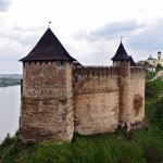 The ancient fortress of Khotyn