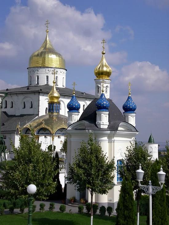 Holy Dormition Pochaev Lavra, Ukraine view 2