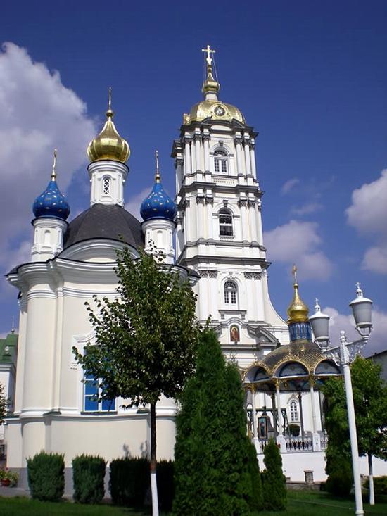 Holy Dormition Pochaev Lavra, Ukraine view 3