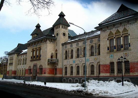 Museum of local lore, Poltava, Ukraine view 1