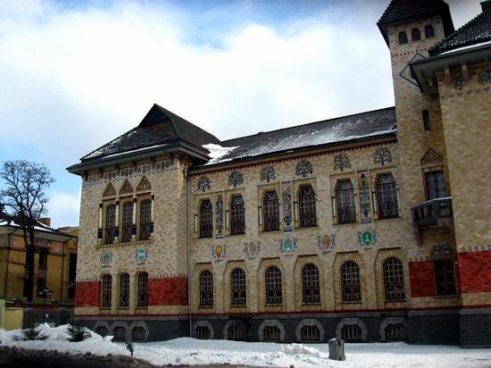 Museum of local lore, Poltava, Ukraine view 2