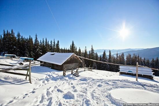 Picturesque landscapes of Carpathian Mountains view 10