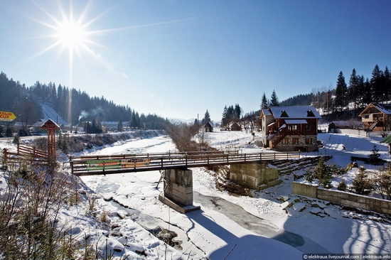 Picturesque landscapes of Carpathian Mountains view 2