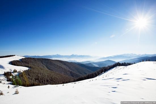 Picturesque landscapes of Carpathian Mountains view 7