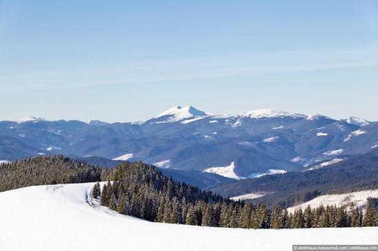 Picturesque landscapes of Carpathian Mountains view 8