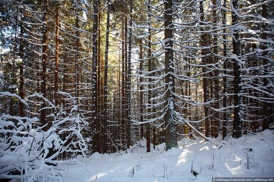 Picturesque landscapes of Carpathian Mountains view 9