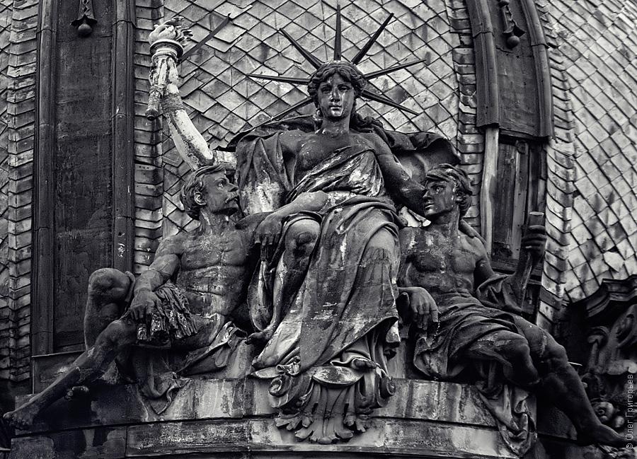 Statue of Liberty, Lviv, Ukraine