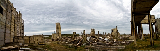 Abandoned Crimean nuclear power plant view 16