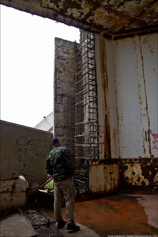 Abandoned Crimean nuclear power plant view 6