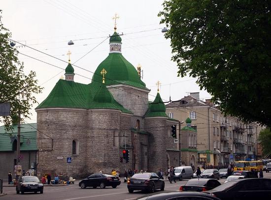 Beautiful Ternopil, Ukraine view 1