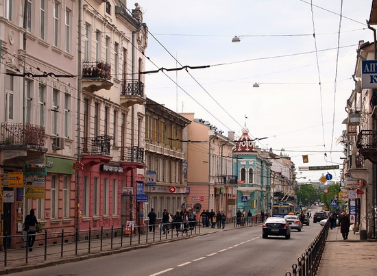 Beautiful Ternopil, Ukraine view 15