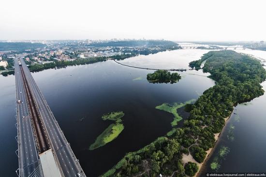Ukrainian highest cable-stayed bridge view 4