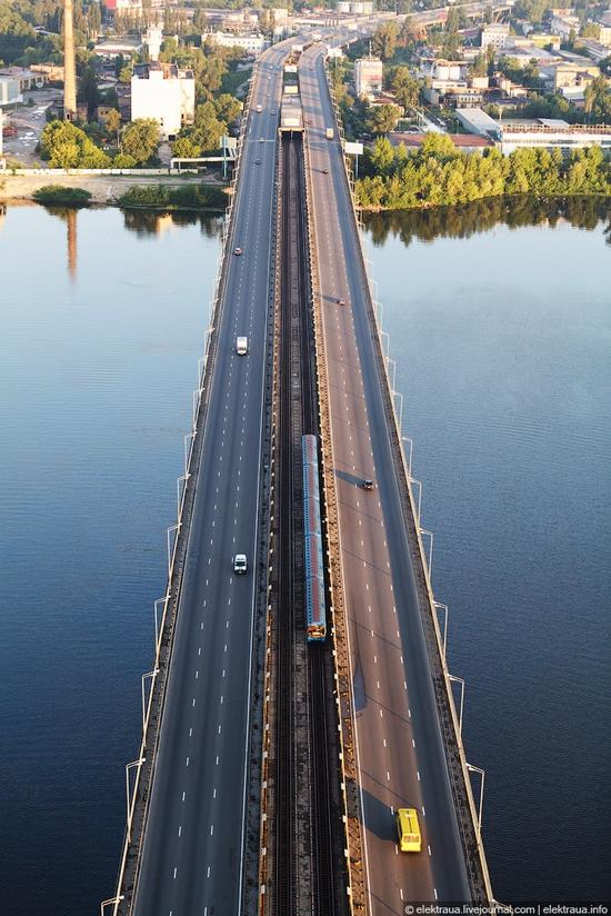 Ukrainian highest cable-stayed bridge view 8
