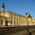 Zhmerinka railway station – the ship sailing to Odessa