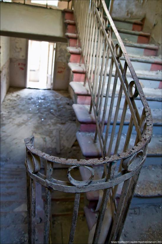 Abandoned military hospital, Balaklava, Crimea, Ukraine view 10
