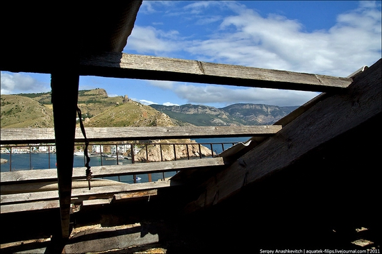 Abandoned military hospital, Balaklava, Crimea, Ukraine view 18