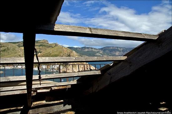 Abandoned military hospital, Balaklava, Crimea, Ukraine view 18