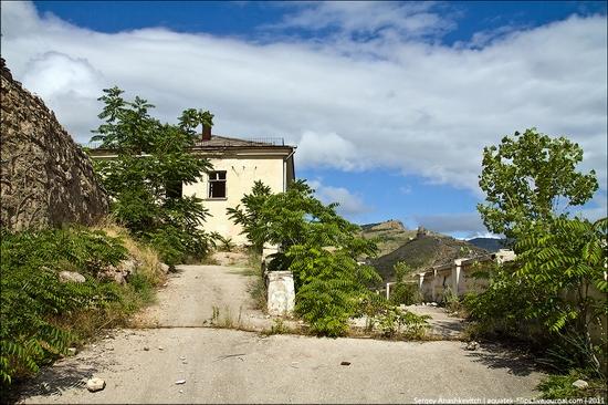 Abandoned military hospital, Balaklava, Crimea, Ukraine view 2