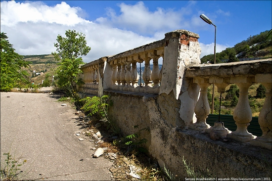 Abandoned military hospital, Balaklava, Crimea, Ukraine view 3