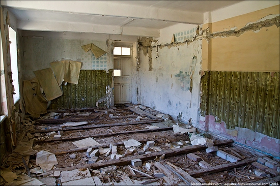 Abandoned military hospital, Balaklava, Crimea, Ukraine view 4