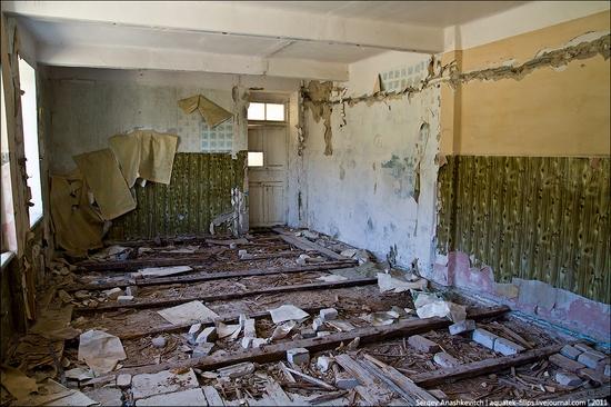 Abandoned military hospital, Balaklava, Crimea, Ukraine view 4