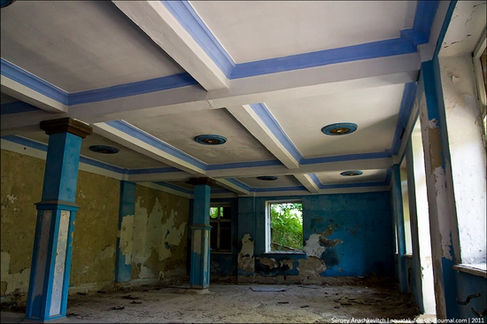 Abandoned military hospital, Balaklava, Crimea, Ukraine view 5