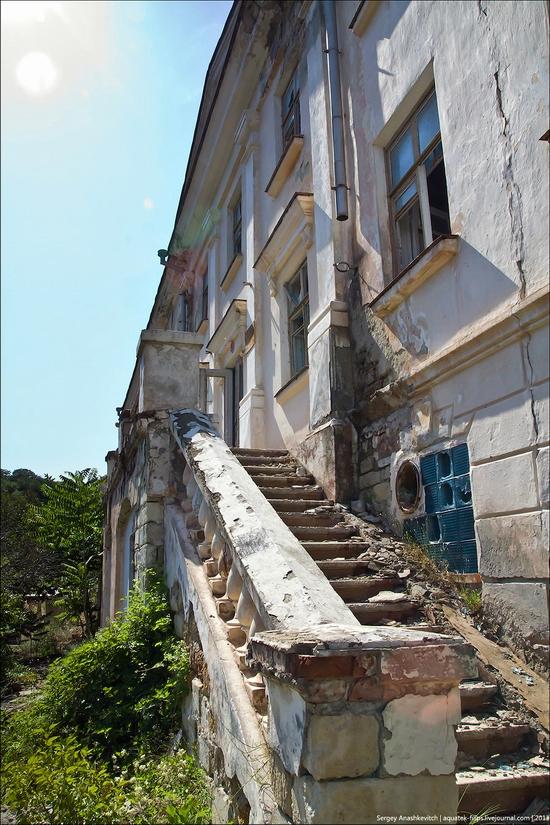 Abandoned military hospital, Balaklava, Crimea, Ukraine view 6