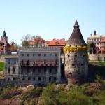 Picturesque sceneries of Kamenets Podolskiy