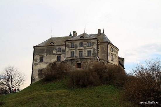 Olesky castle, Lviv oblast, Ukraine view 1