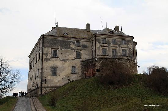 Olesky castle, Lviv oblast, Ukraine view 2