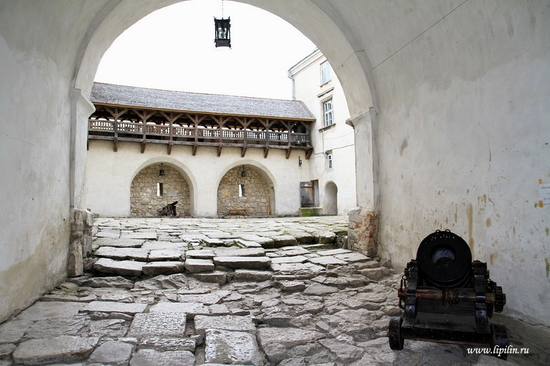 Olesky castle, Lviv oblast, Ukraine view 5